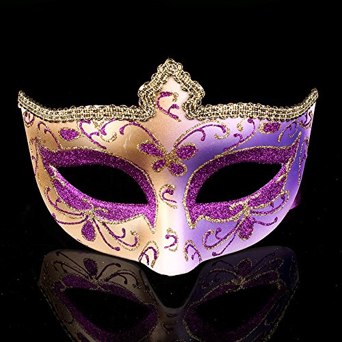 (Dance Mask Make Up Halloween Lace Mask Lady'S Half Face Mask)
