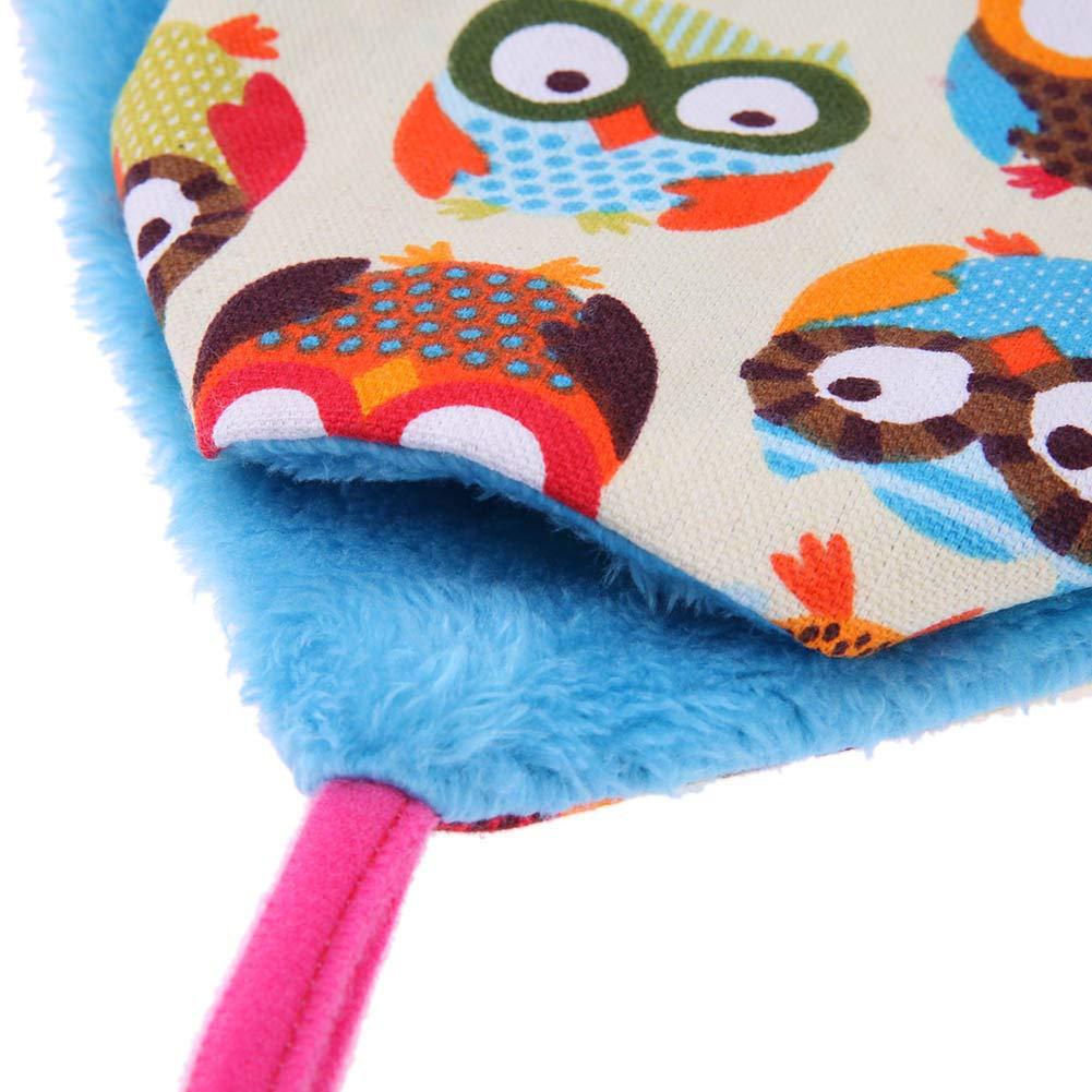 Findema Hamster Hammock Squirrel Toys Saco de Dormir para Mascotas de 3 Capas para Colgar en Caliente Hur/ón Ardilla Cavy Rabbit Smalle Cama para Mascotas