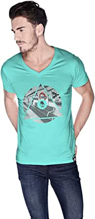 Creo London T-Shirt For Men - S, Green