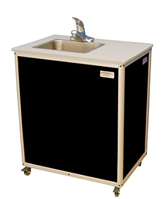preschool bathroom sink. Monsam PSE-2007 Black Preschool And Childcare Single Basin Portable Sink, 32\u0026quot; Length Bathroom Sink