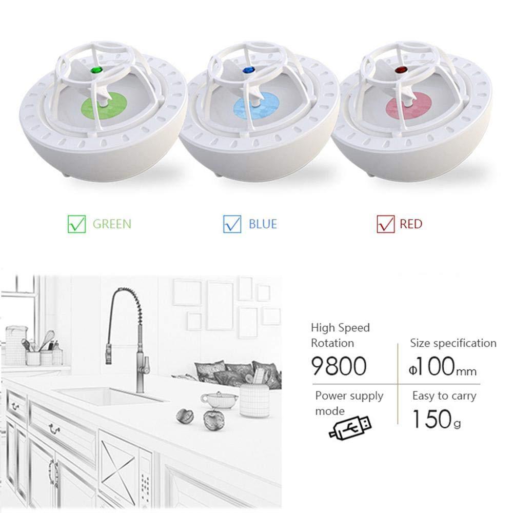 USB Portable High Pressure Wave Dishwasher Washing Cleaner for Fruit Vegetables Tableware Bowl Chopsticks Lesgos Mini Dishwasher Machine