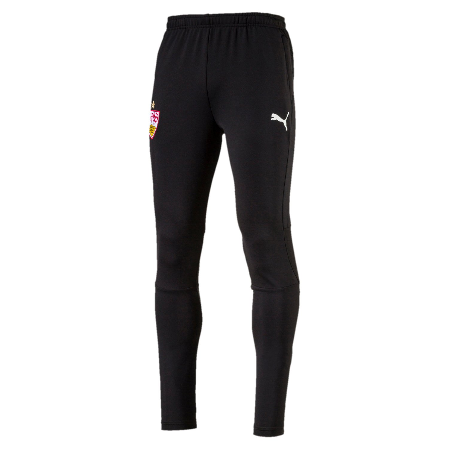 Puma Herren VfB Stuttgart Training Pants 2 Side Pockets with Zip Hose