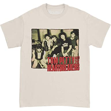 3ace0f8711cf Amazon.com: Tom Petty Men's Band Photo T-Shirt X-Large Ice: Clothing