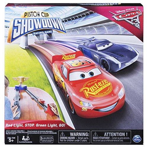 Cup Piston Mcqueen (Spin Master Games - Cars 3 - Piston Cup Showdown - Racing Game)