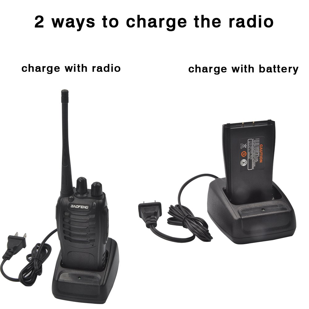 Baofeng BF-888S Two Way Radio (Pack of 10) and USB Programming Cable (1PC) by BaoFeng (Image #3)