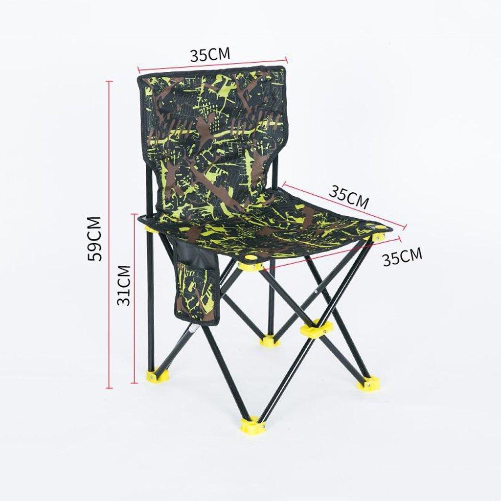 ベンチ 釣りの椅子屋外折りたたみ椅子ポータブルキャンプのビーチの絵画のスケッチの椅子 (A++) (色 : C, サイズ さいず : W35cm*H59cm) B07DHJC9QQ W35cm*H59cm|C C W35cm*H59cm