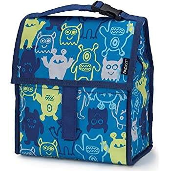 Amazon.com: PackIt Freezable Lunch Bag with Zip Closure ...