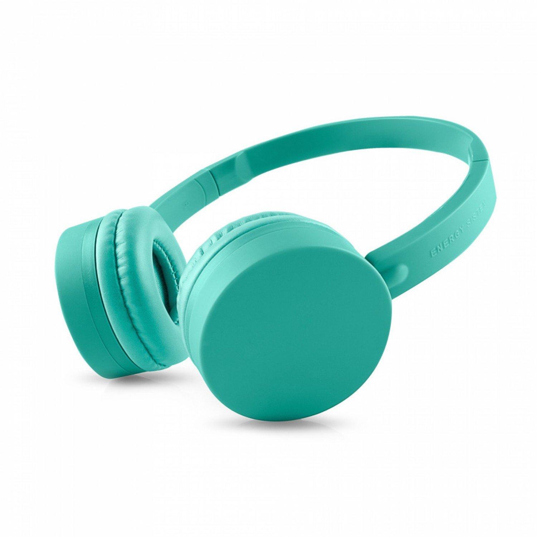 Energy Sistem BT1 - Auriculares Bluetooth con micrófono (control talk, batería recargable, ultraligeros), color verde menta: Amazon.es: Electrónica