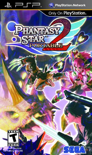 Phantasy Star Portable 2 - Sony PSP (Phantasy Star Portable 2)