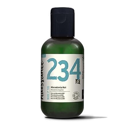 Naissance Aceite Vegetal de Macadamia BIO 100ml - 100% puro, prensado en frío,