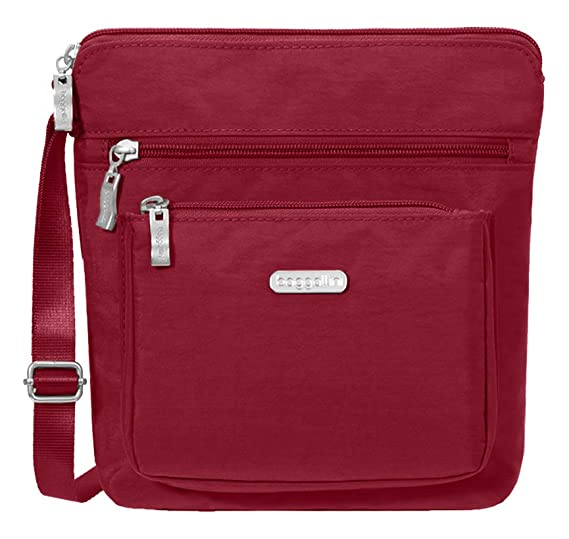 5f6bf69aa8 Baggallini Pocket Lightweight Crossbody Bag-Spacious