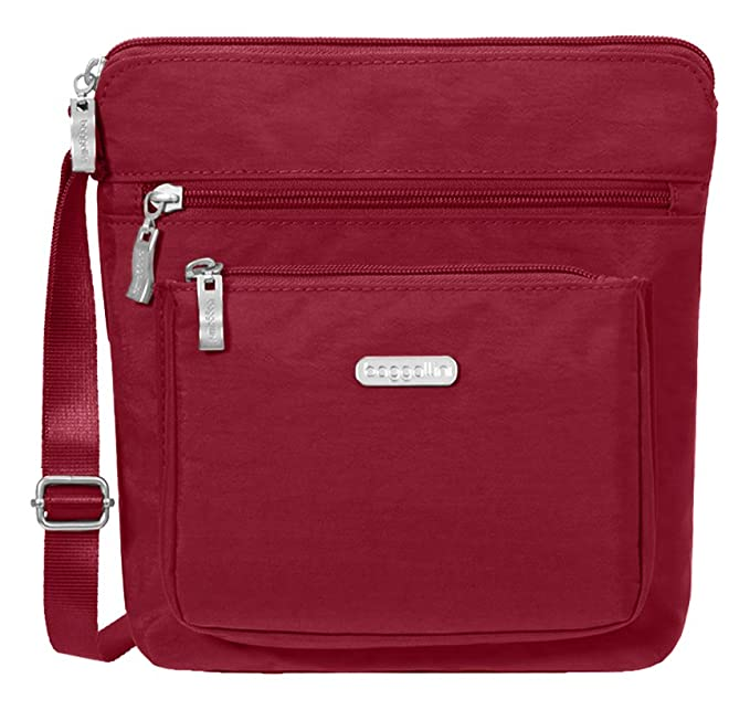 Baggallini Pocket Crossbody with RFID, Apple best RFID travel purses