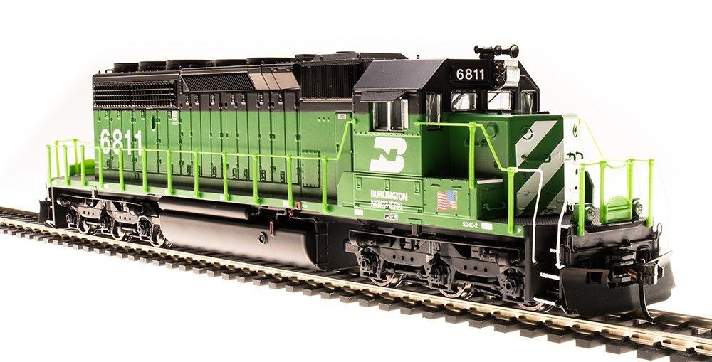 Spur H0 - Diesellok EMD SD40-2 Burlington Northern mit Sound