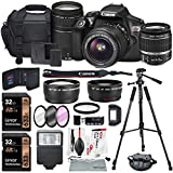 canon rebel starter kit - Canon EOS Rebel T6 DSLR Camera Bundle with EF-S 18-55mm f/3.5-5.6 IS II Lens, EF 75-300mm f/4-5.6 III Lens and Accessories (18 items)