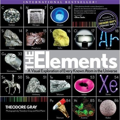 Elements: A Visual Exploration of Every Known Atom in the Universe (Paperback)