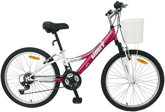 Bicicleta de Montaña Umit Gina 24: Amazon.es: Deportes y aire libre