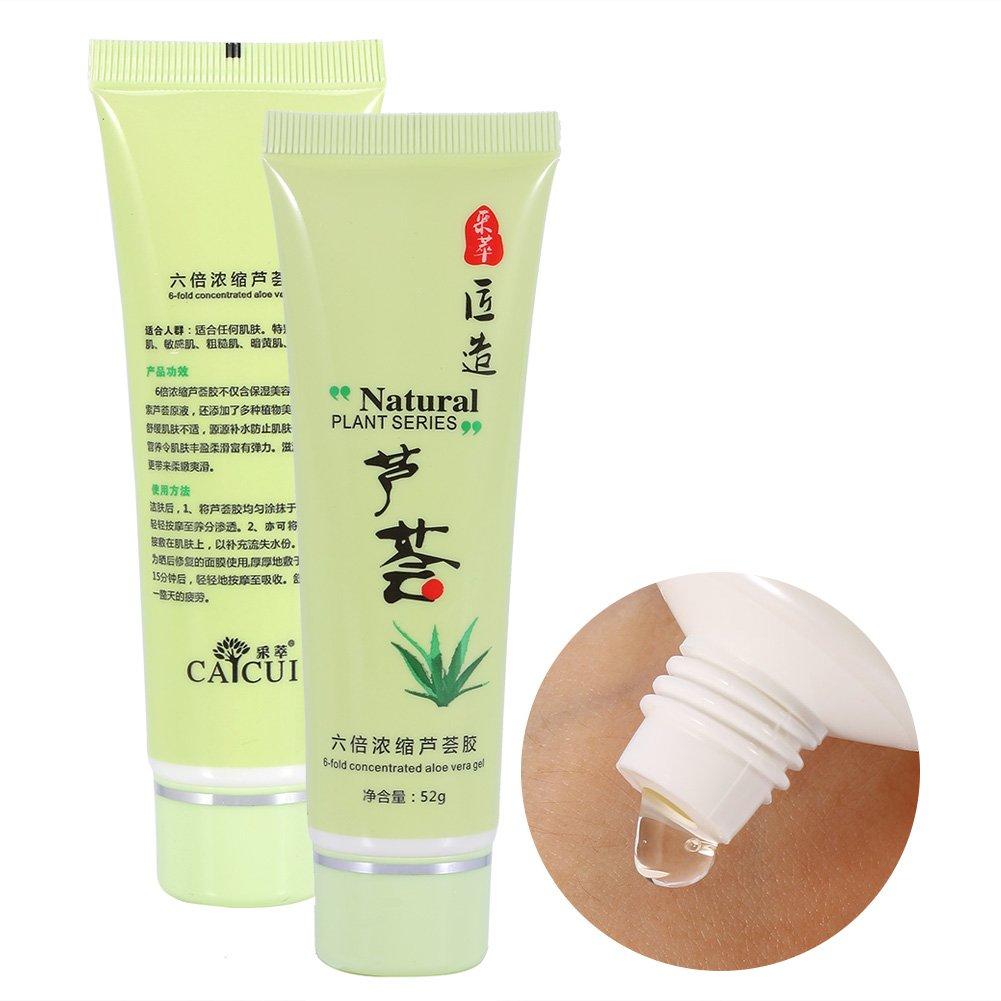 Aloe Gel Anti Acne Treatment Facial Care Whitening Soothing Moisturizing Repairing
