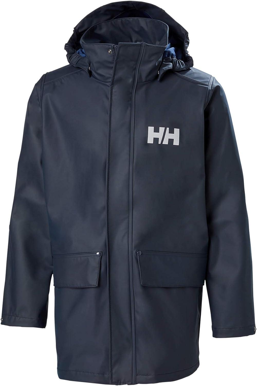 Helly-Hansen unisex-child Juniors Moss Rain Coat