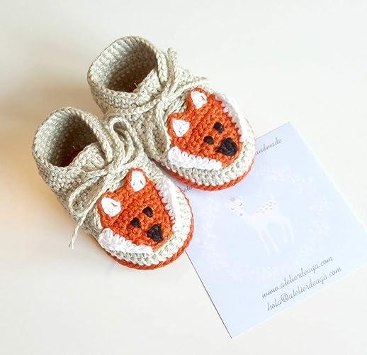 ENVIO GRATIS MOCASINES Patucos sneakers de primera puesta hechos a mano 100% algodón talla 0