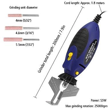 Afilador De Cadena De Motosierra 3 PIezas Acero De Alto Carbono Eficiente