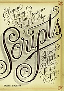 Scripts: Elegant Lettering from Design's Golden Age (0500290393) | Amazon price tracker / tracking, Amazon price history charts, Amazon price watches, Amazon price drop alerts