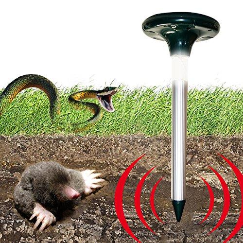 OUTXPRO Solar Energy Snake Repeller Powerful Ultrasonic