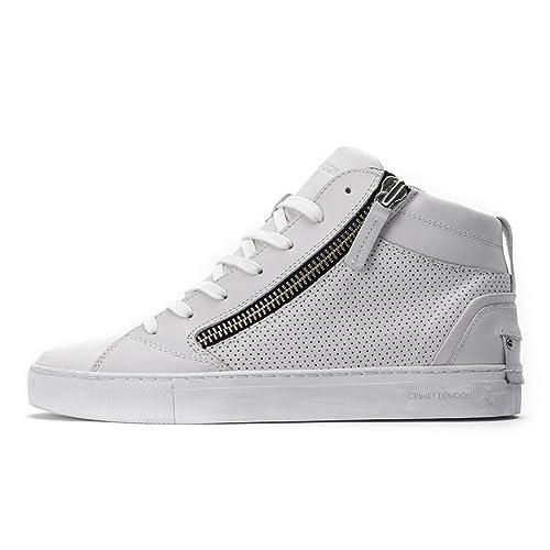 sneakers uomo alte bianche