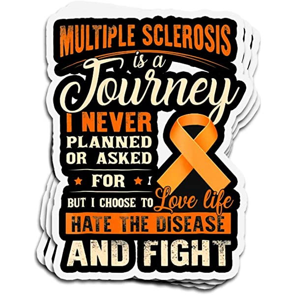 support chronic Multiple Sclerosis disease Support vinyl,decal,sticker,car,suv,truck 4x4,boat,motorcycle help ms awareness Ribbon