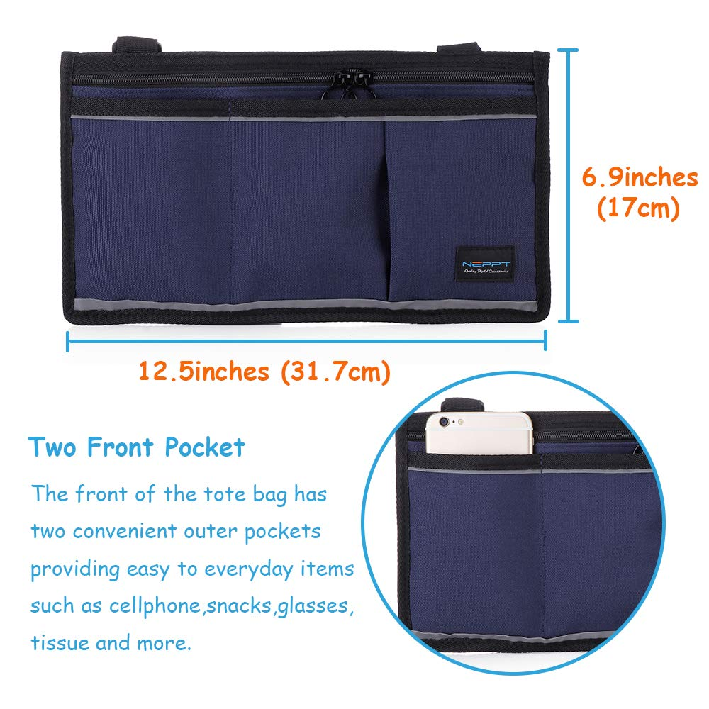 Amazon.com: Walker Bag Wheelchair Electric Scooter Bag Travel Carry Bag Pouch Armrest Side Organizer Mesh Storage Cover - Fits Most Bed Rail, Scooters, ...