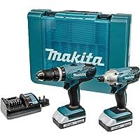 Makita DK18015X Lote de 2máquinas en maletín