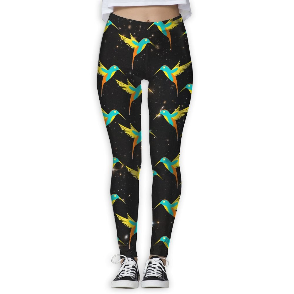 589a148e3611a Amazon.com: WPE8 Beautiful Cute Hummingbird Women's S Workout Running Gym  Tights Leggings High Waist Yoga Pants: Clothing