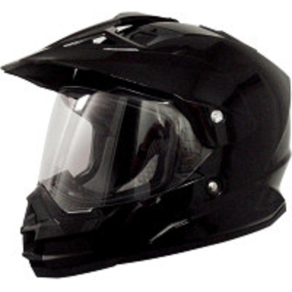 AFX FX-39 Dual Sport Motorcycle Helmet Flat Black SM