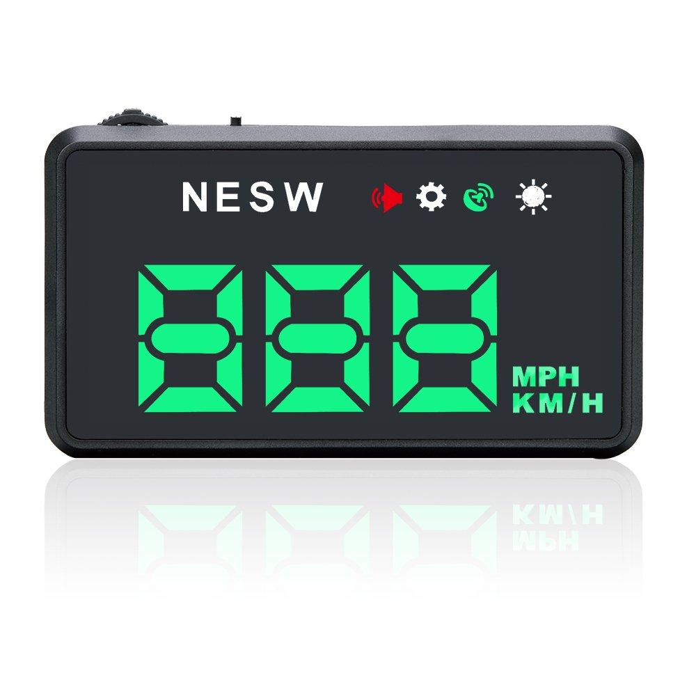 G101 Green Universal Car HUD GPS Speedometer Head UP Display Windshield Digital Car Speed Projector Over Speed Alarm Shenzhen Eastern Forest Co. Ltd