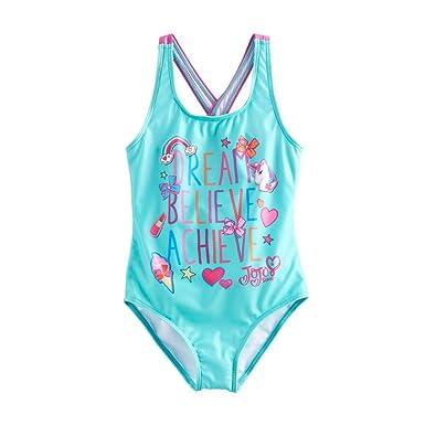 One Piece Dream Believe Achieve Swimwear, Surfwear & Wetsuits JoJo Siwa Girls Swimsuit 5/6 Swimwear, Surfwear & Wetsuits