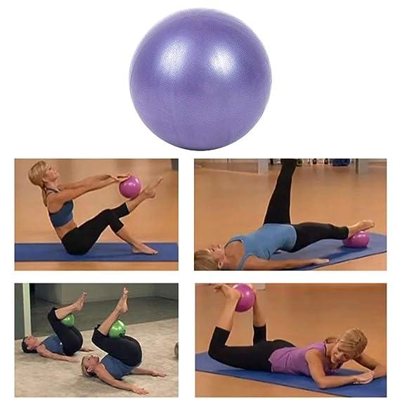 Sahalo Pelota de Ejercicio, PVC Yoga Ball 25cm Pilates Ball ...