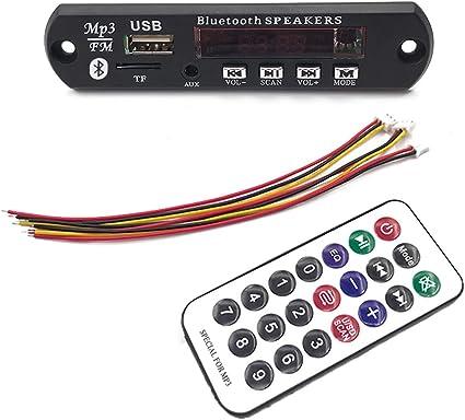 MP3 Decoder Board USB//SD// Reader MP3 Decode Bluetooth//FM Car Audio Board Module