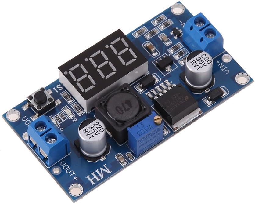 Dc//Dc Digital Boost Verstärker Spannungswandler LM2596s 4-40V Mit Voltmeter $S1