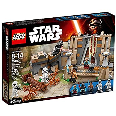 LEGO Star Wars Battle on Takodana 75139: Toys & Games