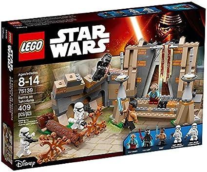 Amazon Com Lego Star Wars Battle On Takodana 75139 Toys Games