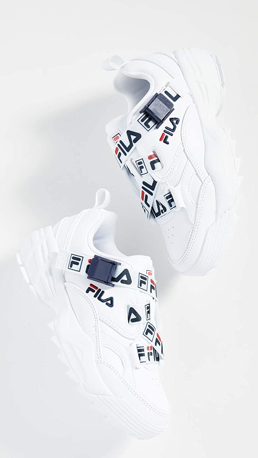 Fila Women's Fast Charge Sneakers White/Navy/Red
