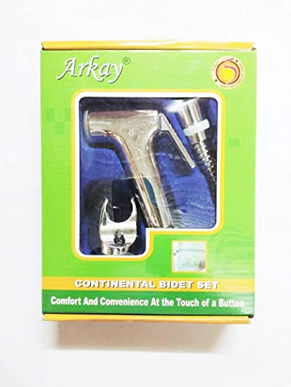 arkay Health Faucet with 1 mtr Tube & seat by Balaji Trading co.