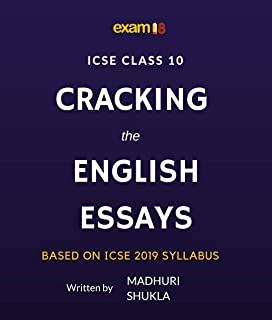 Buy Icse Model English Essays Cbd Book Online At Low Prices In  Cracking The English Essays For Icse Class  Board Exams