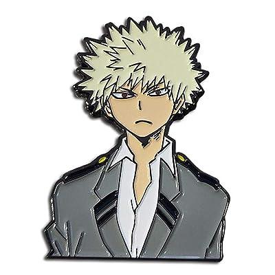 Great Eastern - My Hero Academia - Katsuki Bakugo UA Suit Pin, 2-inches: Toys & Games
