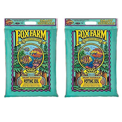 HYDROFARM INC-FOXFARM FX14053 Foxfarm, 12 qt, Ocean Forest Potting Soil - 2 Pack