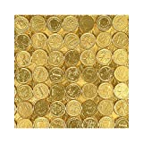 Chocolate Coins (With Sticky Notes)