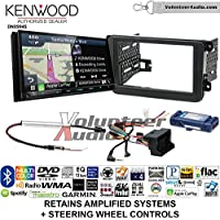 Kenwood Excelon DNX994S Double Din Radio Install Kit with GPS Navigation Apple CarPlay Android Auto Fits 2012-2014 Volkswagen Beetle, 2010-2014 Golf, 2006-2015 Jetta