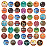 quick cafe travel coffee maker - Coffee Pack Variety Sampler, Premium, Single Serve K Cups (48 Count)