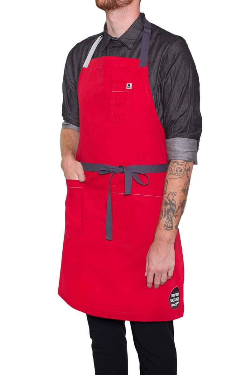 Hedley & Bennett (PRODUCT)RED Apron