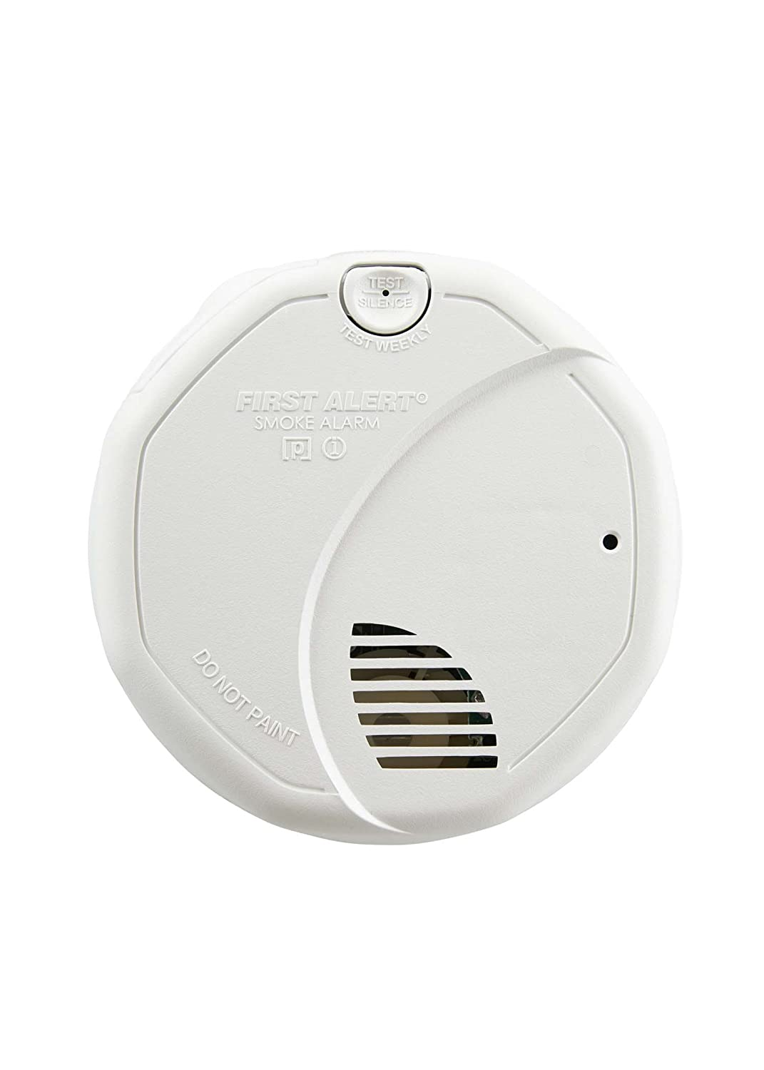 First Alert Smoke Detector, Photoelectric and Ionized Alarm | Hardwired with Battery Backup, BRK 3120B