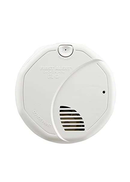How To Hard Wire Smoke Detectors | First Alert Smoke Detector Photoelectric And Ionized Alarm